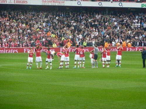 Arsenal spillere af Wonker (cc-licensed)