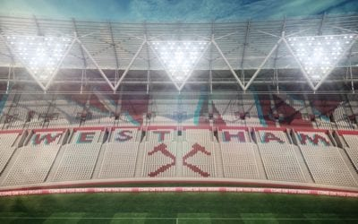 West Ham: Olympiskie Stadion - Eastside tribune