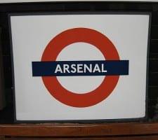 Arsenal skilt
