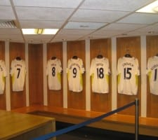 Tottenham omklædningsrum