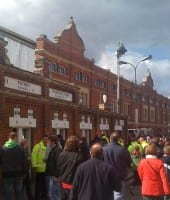 Fulham - Craven Cottage - Johnny Haynes Stand
