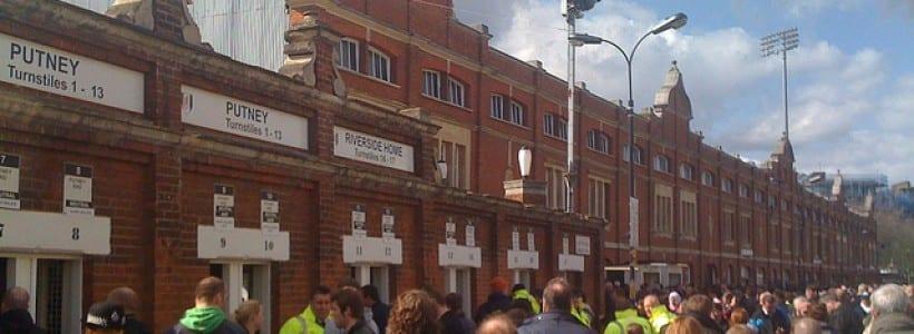 Fulham - Craven Cottage - Johnny Haynes Stand