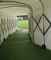 Fulham - Craven Cottage spilletunnel
