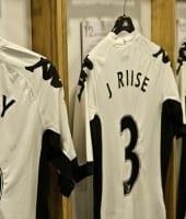 Fulham - Craven Cottage stadion tour omklædningsrum