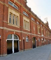 Fulham - Craven Cottage stadion tourJohnny haynes stand