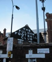 Fulham - Craven Cottage udefra