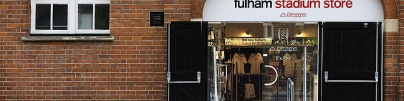 Fulham club store