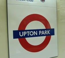 West Ham upton park underground