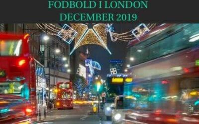 Fodbold i London december