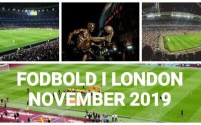Fodbold i london